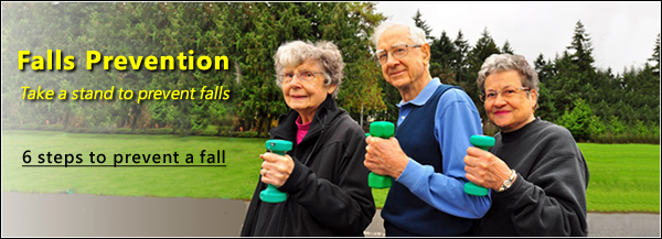 Falls prevention: 6 steps to prevent a fall